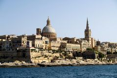 La Valletta Stock Afbeelding