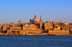 La valletta di Malta Fotografie Stock