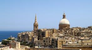 La Valletta, die Hauptstadt von Malta Lizenzfreie Stockfotografie