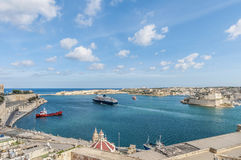 La Valletta Grand Harbour, Malta Royalty Free Stock Photos