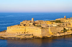 La Valletta historic port Stock Photography