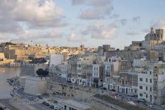 La Valletta - la capitale di Malta Fotografie Stock Libere da Diritti