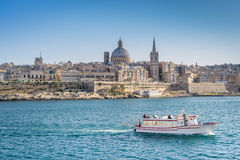 La Valletta Malta Fotografia Stock