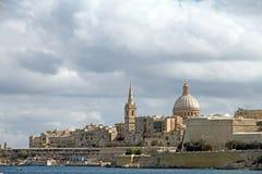 La Valletta Malta Arkivfoto