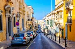 La Valletta Malta: Bellezza occidentale al suoi più fresco e più fine fotografia stock libera da diritti