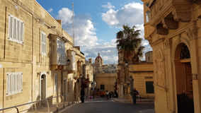 La Valletta Malta. La Valetta Malta Old City view Royalty Free Stock Photo