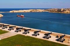 La Valletta van Malta Stock Afbeeldingen