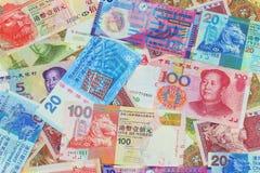 La valuta cinese Immagini Stock