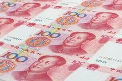 La valuta cinese Fotografia Stock Libera da Diritti
