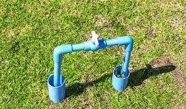 La valve de l'eau photo libre de droits