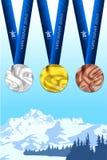 La Vancouver 2010 medallas libre illustration