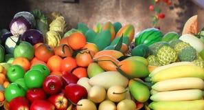 La variété porte des fruits modèle Photo stock