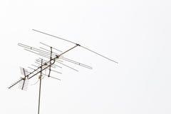 La vecchia antenna Fotografie Stock Libere da Diritti