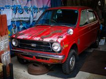 La vecchia automobile Immagini Stock Libere da Diritti