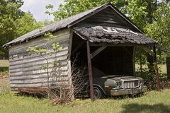 La vecchia automobile immagine stock