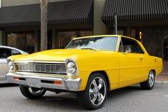 La vecchia automobile di Chevy II Immagini Stock Libere da Diritti
