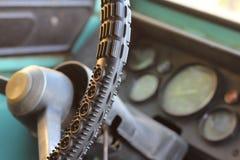 La vecchia automobile russa Fotografia Stock Libera da Diritti