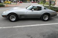 La vecchia automobile sportiva Fotografia Stock