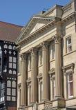La vecchia Banca a Chester Fotografie Stock Libere da Diritti