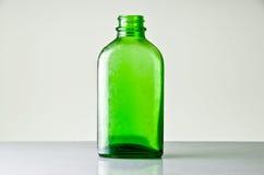 La vecchia bottiglia della medicina Fotografie Stock Libere da Diritti