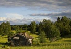 La vecchia cabina Immagine Stock
