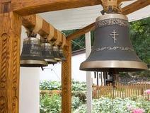 La vecchia campana in un monastero ortodosso Fotografie Stock Libere da Diritti