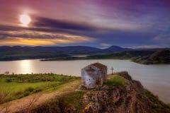 La vecchia cappella StJohn Letni, Bulgaria Fotografia Stock Libera da Diritti