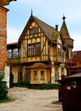 La vecchia casa. Fotografie Stock