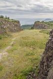 La vecchia cava di pietra in Morro fa il paesaggio della montagna del gaucho immagine stock libera da diritti