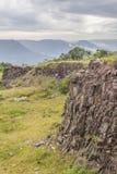 La vecchia cava di pietra in Morro fa il paesaggio della montagna del gaucho fotografie stock libere da diritti