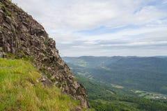La vecchia cava di pietra in Morro fa il paesaggio della montagna del gaucho fotografie stock