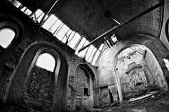 La vecchia chiesa Immagini Stock