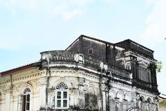 La vecchia chiesa Fotografie Stock Libere da Diritti