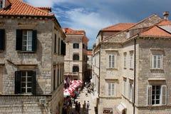 La vecchia città Fotografie Stock Libere da Diritti
