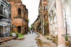 La vecchia città Fotografia Stock Libera da Diritti