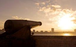 La vecchia città del habana, Cuba fotografie stock