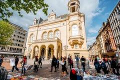 La vecchia città della città di Lussemburgo Fotografie Stock