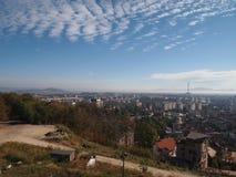 La vecchia città della città rumena brasov Fotografie Stock Libere da Diritti