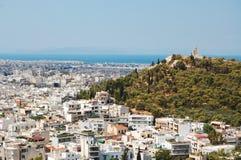 La vecchia città di Atene Fotografia Stock