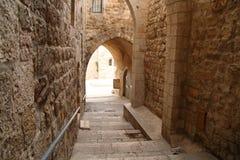 La vecchia città di Gerusalemme Immagine Stock
