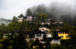 La vecchia città di Gjirokaster, Albania Immagine Stock Libera da Diritti