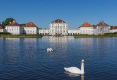 La vecchia città di Monaco di Baviera, un sito del patrimonio mondiale dell'Unesco fotografie stock