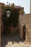 La vecchia città di Monemvasia, Grecia Fotografia Stock