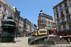 La vecchia città di Oporto, Portogallo Fotografie Stock Libere da Diritti