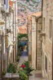 La vecchia città di Ragusa, Croazia Immagini Stock Libere da Diritti