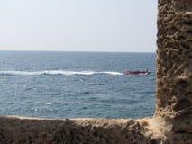 La vecchia città di San Giovanni d'Acri, Israele immagine stock