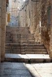 La vecchia città, Gerusalemme immagine stock libera da diritti