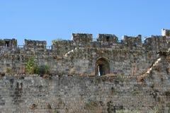 La vecchia città a Gerusalemme Fotografie Stock