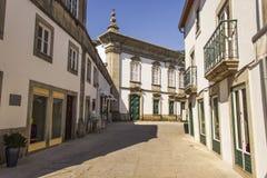 La vecchia città, Viana fa il Castelo-Portogallo Immagini Stock Libere da Diritti