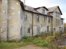 La vecchia costruzione, la decorazione per il film Fotografia Stock